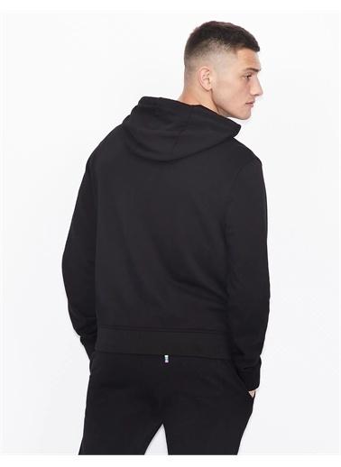 Armani Exchange Erkek Sweatshirt 6Hzmcb-Zjbaz-1100 Siyah
